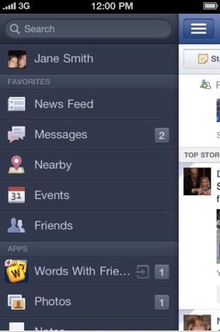 2011 10 12 11.21.35 am Opinioni: facebook per iPhone, gioie (poche) e dolori (tanti!) per una delle app più popolari