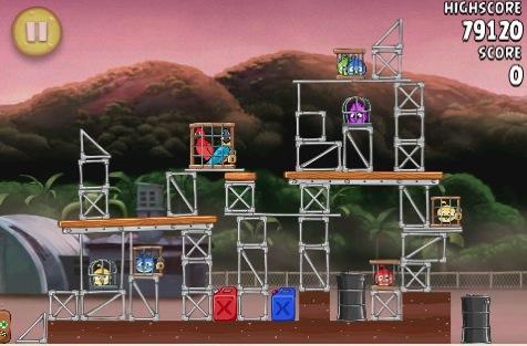 CapturFiles 12 Angry Birds Rio si aggiorna alla versione 1.3.2