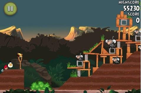 CapturFiles 2 Angry Birds Rio si aggiorna alla versione 1.3.2