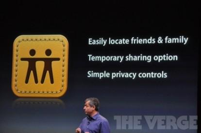 Evento Find My Friends 414x274 Apple presenta due nuove applicazioni: Cards e Find My Friends