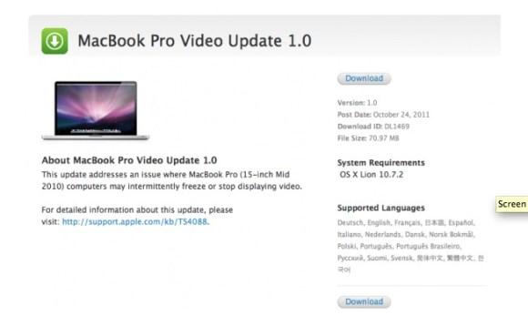 Schermata 10 2455860 alle 17.29.05 580x358 Nuovo aggiornamento 4.4.2 (9A336a) per lApple TV e Video Update 1.0 per MacBook Pro