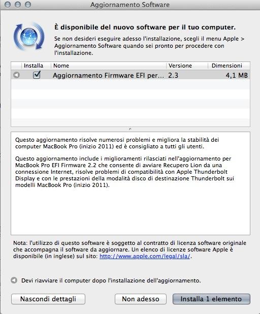 Schermata 10 2455862 alle 14.55.40 Apple rilascia un aggiornamento al Firmware EFI per i Mac 2011, uno per iPhoto ed uno per QuickTime per Windows