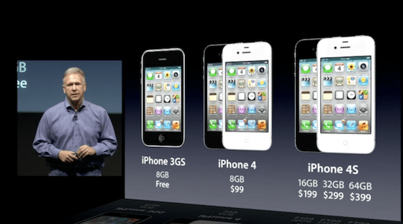 iphone ottobre keynote iphone4s La poltrona riservata vuota più volte inquadrata.