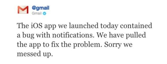 Schermata 11 2455868 alle 22.06.58 580x222 Google rilascia lapplicazione ufficiale di Gmail per i dispositivi iOS