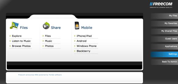 Schermata 11 2455890 alle 20.41.56 580x276 Con SilverStore di Freecom salvi i tuoi dati dove e quando vuoi!
