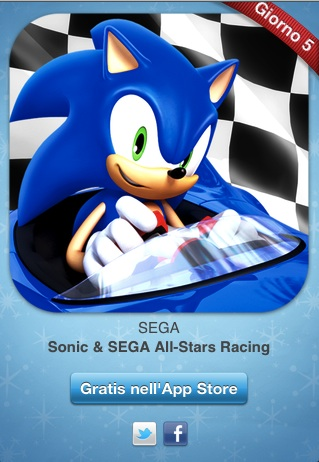 Photo 30 12 11 00 17 35 12 giorni di regali: Sonic and Sega All Stars racing