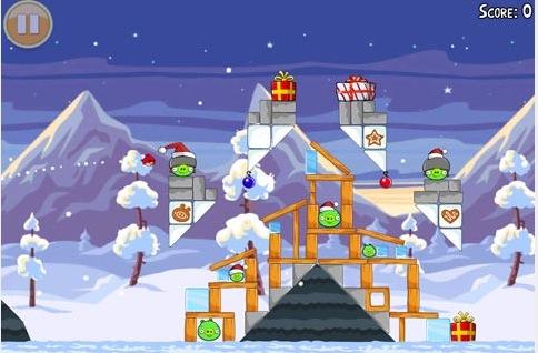 Schermata 12 2455897 alle 21.29.58 Angry Birds Seasons si aggiorna aggiungendo 25 livelli con tema natalizio