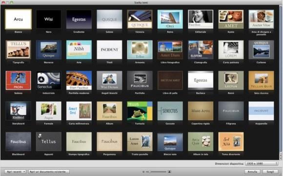 Schermata 12 2455898 alle 15.40.11 580x360 Disponibile laggiornamento 5.1.1 di Keynote per Mac OS X