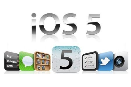 apple ios5 450x3001 Apple rilascia una nuova build di iOS 5.0.1 per iPhone 4S