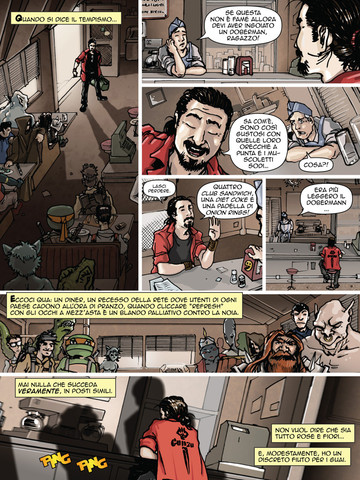 eterevs Due fumetti per iPad della ManFont gratis dal 20 al 25 dicembre