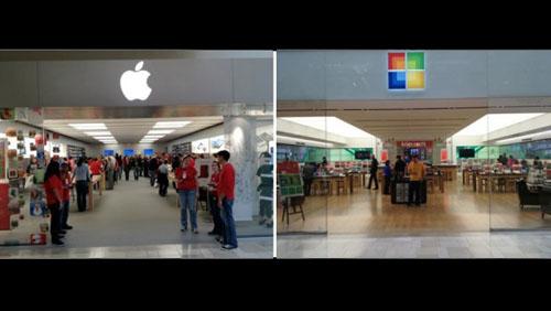 microsoft store apple store Opinioni: Sembra proprio che Microsoft inizi a copiare gli Apple Store