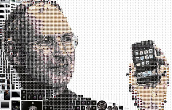 steve jobs 006 580x372 Steve Jobs sarà premiato durante la 54a Cerimonia dei Grammy Awards