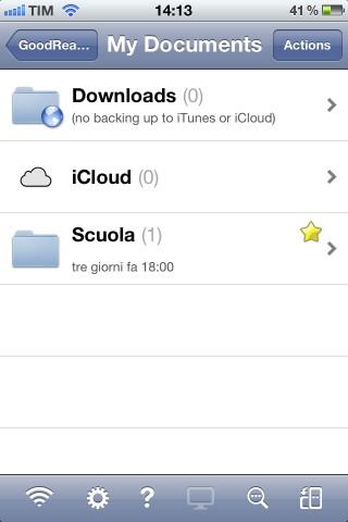 IMG 0366 GoodReader per iPhone: l'applicazione ideale per avere sotto mano tutti i vostri documenti!