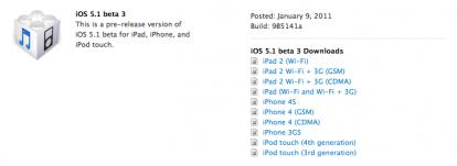 Schermata 01 2455936 alle 21.01.06 414x151 Apple rilascia iOS 5.1 beta 3 agli sviluppatori