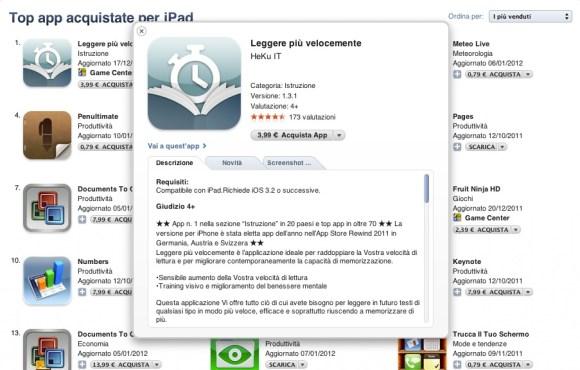 Schermata 01 2455941 alle 12.47.06 580x370 Nuova schermata in iTunes per le applicazione dellApp Store