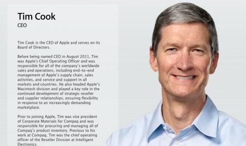 Tim Cook Tim Cook invia un email ai dipendenti Apple per informarli sul rapporto con i fornitori