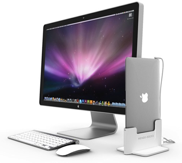 henge dock.mac .book .air  Henge Docks annuncia la nuova dock per MacBook Air.