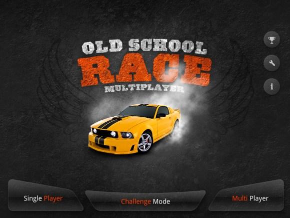 ipad 1 580x435 Giochiamo con le macchinine su iPad: Old School Race multiplayer Pro