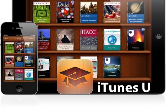 itunes u home iTunes U, una App che trovo davvero Utile.