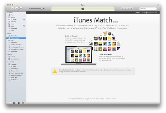 itunes match3 580x397 Apple lancia iTunes Match in altri 19 paesi