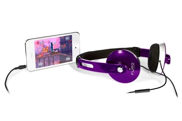 IPHF207VIO 4 580x386 Nuove Cuffie stereo IPHF207 di Puro, buona soluzione per iPhone e iPad