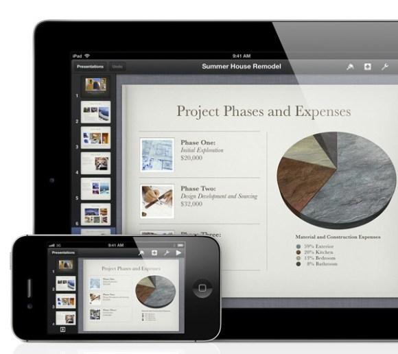 Immagine 03 2455995 alle 12.07.01 580x516 Disponibili su App Store le nuove versioni di iWork, iPhoto, iMovie e Garageband