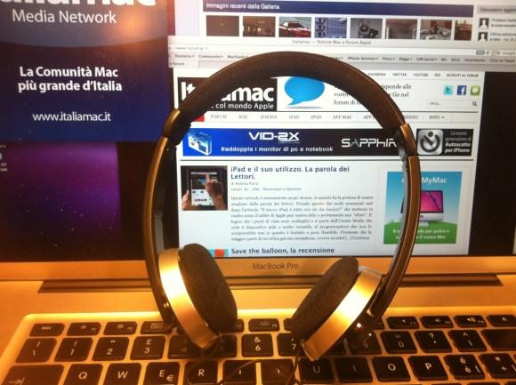 Italiamac cuffie IPHF2073 580x433 Prova su strada, Cuffie Stereo IPHF207 con microfono per iPhone e iPad (ma non solo)