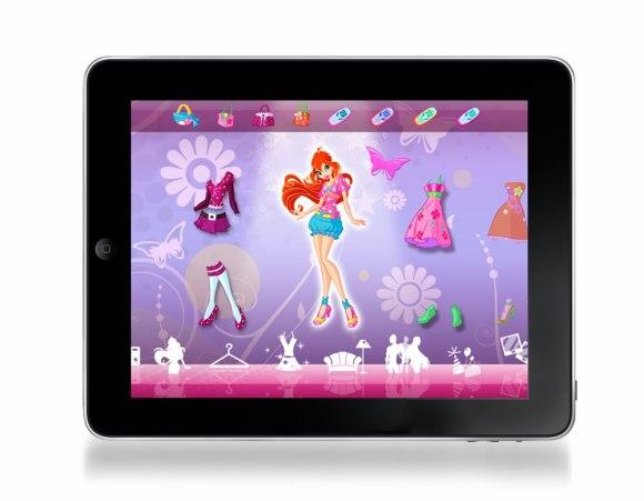 iPad 580x451 Il mondo di Winx Club in un'applicazione per iPhone e iPad