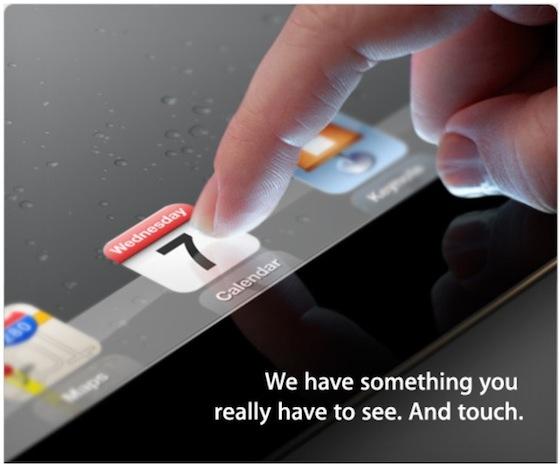 ipad 3 evento Apple potrebbe non avere le scorte sufficienti di iPad 3 per soddisfare tutte le richieste