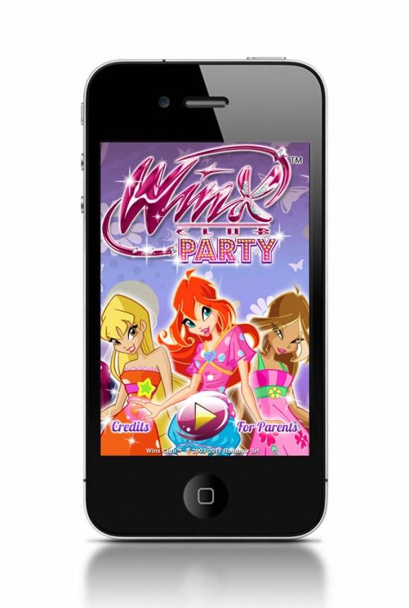iphone 580x863 Il mondo di Winx Club in un'applicazione per iPhone e iPad