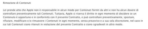 Termini e Condizioni iCloud 580x116 Il Lato Oscuro di iCloud.