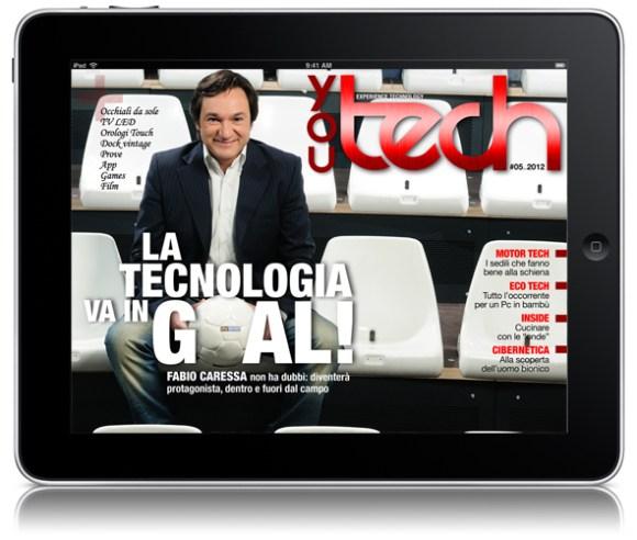 CoverYT05 580x492 Il numero di maggio di You Tech è disponibile per il tuo iPad