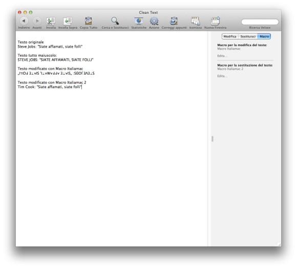 esempio modifica 580x524 Recensione: Clean Text 6.8.1 per Mac