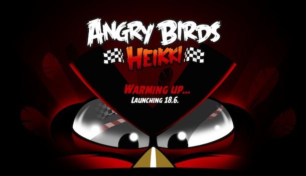 heikki Angry Birds Heikki: in arrivo a Giugno un nuovo capito dedicato alla formula uno
