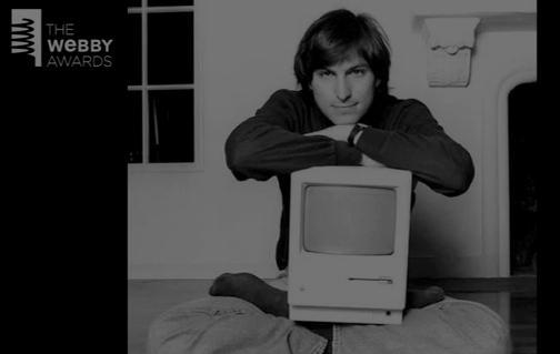 steve jobs webby Steve Jobs ricordato dai grandi del mondo ai Webby Awards