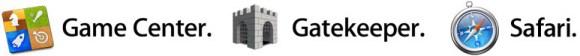 gamecenter gatekeeper safari 580x56 OS X Mountain Lion, le principali funzioni del nuovo sistema operativo per Mac