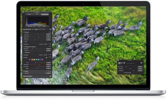 macBookProRetinaLand 580x384 Nuovo MacBook Pro con Retina Display: caratteristiche e prezzi