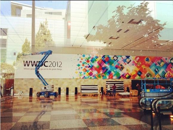 preparativi wwdc 580x435 Al via i preparativi del WWDC 2012 al Moscone Center