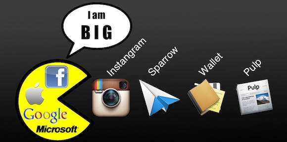 Pacman instagram sparrow pulp wallet Quando le idee dei piccoli fanno gola ai grandi.