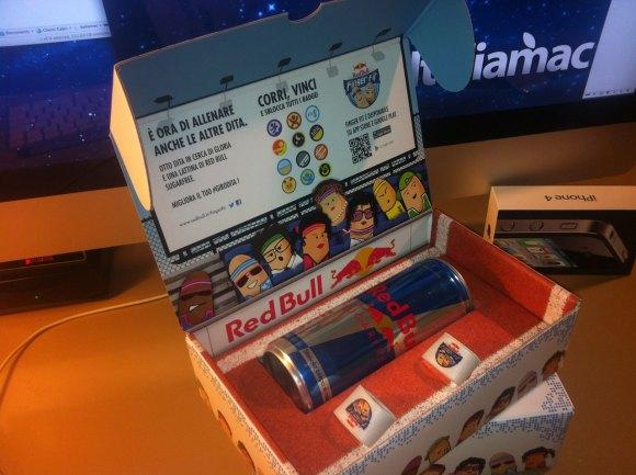 redbull002 580x433 Red Bull torna nellarena delle app con il nuovo gioco per allenare le dita