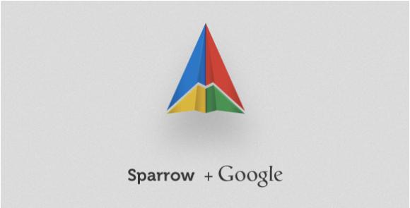 sparrow+google 580x295 Quando le idee dei piccoli fanno gola ai grandi.