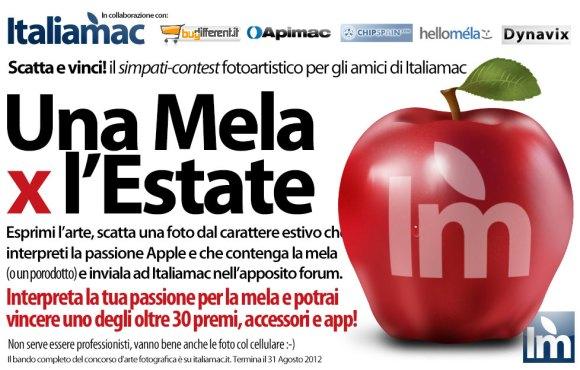 UnaMelaXlEstate20123 580x370 Una Mela X lEstate, scatta una foto e vinci! Il contest fotografico dedicato a tutti gli amici di Italiamac