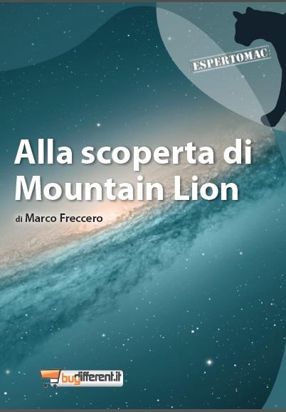 eboonmountainlion BuyDifferent, per la collana EspertoMac, lancia una guida operativa a Mountain Lion