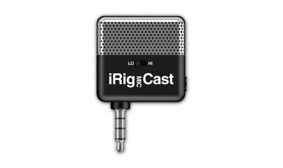 irig2 570x339 iRig MIC Cast, il microfono compatto dedicato ai dispositivi iOS
