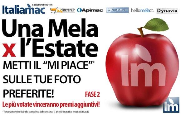 00000 580x370 Una Mela X lEstate: Inizia la fase 2!! Votate e fatevi votare anche su Facebook!