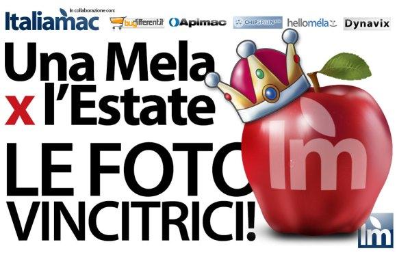 UnaMelaXlEstate2012 vincitori 580x370 Ecco le foto vincitrici del concorso Una Mela X lEstate 2012