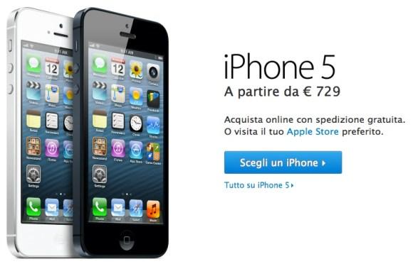 compraiphone 580x372 iPhone 5 disponibile anche online sullo store di Apple