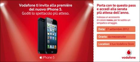 pass Notte bianca iPhone 5 anche per Vodafone e Tim: Ecco tutti i negozi aperti fino alle 2