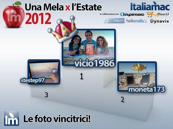 podiomelaestate2012 580x435 Galleria fotografica dei vincitori del concorso Una Mela X lEstate 2012