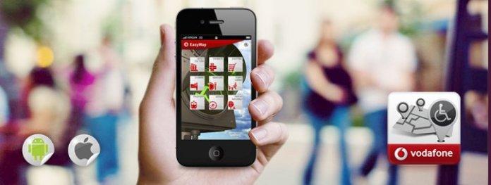 Vodafone Easyway Vodafone EasyWay per individuare barriere architettoniche nella tua città